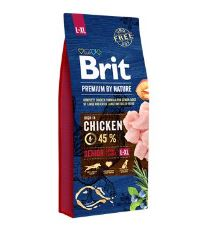 Brit Premium by Nature Dog Senior L+XL 15 kg