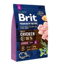 Brit Premium by Nature Dog Junior S 3 kg