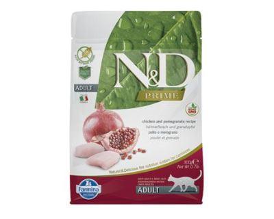 N&D Grain Free Cat Adult Chicken & Pomegranate - kuracie & granátové jablko bezobilné pre dospelé mačky 300 g