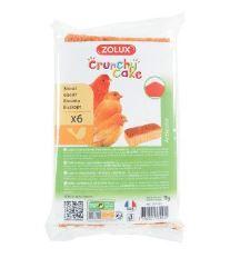 Sušenky pro ptáky CRUNCHY CAKE ACTICOLOR 6ks 75g Zolux