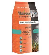 Nativite Cat Adult Salmon & Rice Active - losos & ryža pre dospelých a aktívne mačky