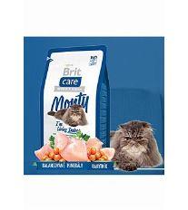 Brit Cat Monty I`m Living Indoor - kura & ryža pre mačky žijúce vo vnútri