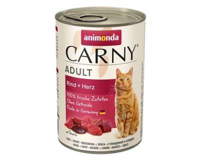 Animonda Adult konzerva - hovädzie srdce pre mačky 400 g