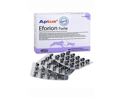 Aptus Eforion forte kapsule pre zdravie pokožky, srsti a pazúrov psov a mačiek, 45 kapsúl