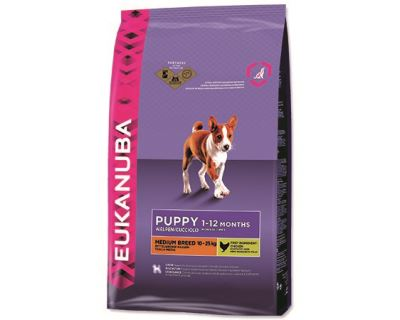 Eukanuba Puppy & Junior Medium Breed 1 kg
