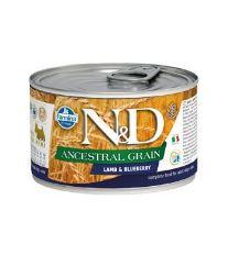 N&D DOG LOW GRAIN Adult Lamb & Blueberry Mini 140g