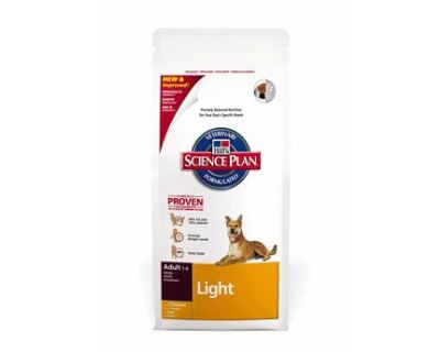 Hill´s Science Plan Canine Dry Adult Light