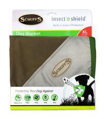 Deka SCRUFFS Insect Shield Blanket hnědá 145 x 110 cm 1ks