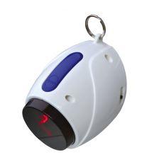 Laserová hračka pre mačky 11 cm, bielo / modrá