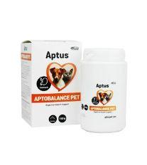 Aptus APTOBALANCE Pet - doplnkové krmivo pre úpravu žalúdka a čriev psov a mačiek, 140 g