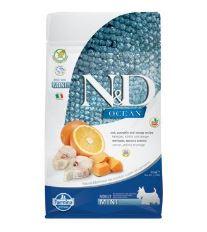 N&D OCEAN DOG GF Adult Mini Codfish&Pumpkin&Orang 800g