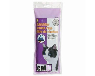 Hagen Cat It Design uhlíkový filter pre toalety s krytom 2 ks