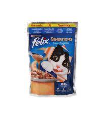 Kapsičky FELIX Sensations Sauce Surprise treska a rajčata v omáčce 2000 g