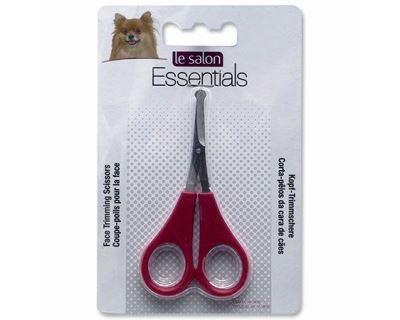 Le Salon Essentials Dog nožnice pre psov na tvár s bezpečnostnými hrotmi