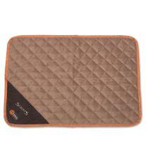 Scruffs Thermal Mat Termálne podložka čokoládová - veľkosť S, 75x52 cm