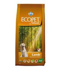 Ecopet Natural Adult Lamb Maxi 12kg+2kg ZDARMA