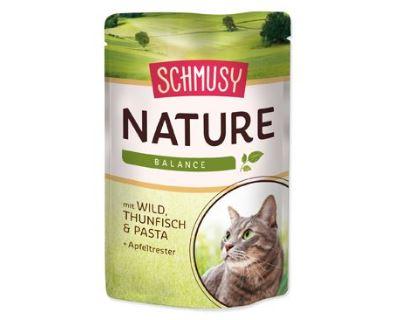 Schmusy Nature Menu kapsička - zverina & tuniak 100 g