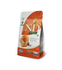 N&D GF Pumpkin CAT Herring & Orange 1,5kg