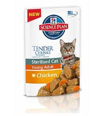 Hill 'Feline kapsička Adult Young Sterilised Chicken - kuracie pre kastrované 85 g