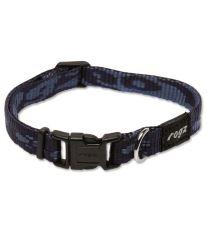 Obojek pre psa nylonový - Rogz Alpinist - modrý - 1,1 x 20 – 32 cm