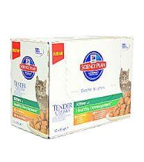 Hill 's Feline kapsička Kitten Multipack - hydina a morská ryba pre mačiatka 12x85 g
