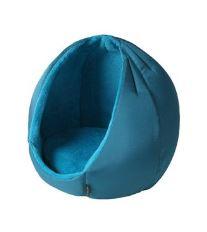 Pelech domek Kukaň KING modrá 45cm D67