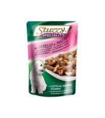 Kapsička STUZZY Dog Speciality telecí + těstoviny 100 g
