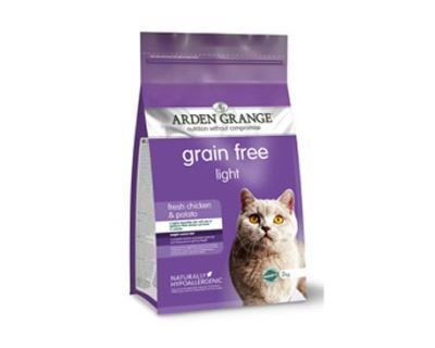 Arden Grange Cat Light Chicken & Potato - kuracie & zemiaky pre mačky s nadváhou 4 kg