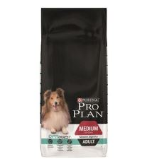 ProPlan Dog Adult Medium Sens.Digest 14kg drůbeží