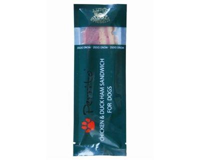 Perrito Mono Dose Duck & Chicken Ham Sandwich - kačica & kura maškrtu 10 g