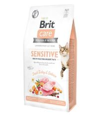 Brit Care Cat GF Sensit. Heal.Digest&Delic.Taste 7kg