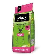 Nativia Dog Junior Maxi 15kg