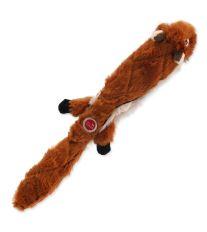 Hračka DOG FANTASY Skinneeez eXtreme čipmank 35 cm