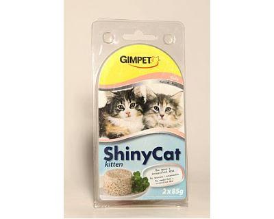 Gimpet Shiny Cat Junior konzerva kura 2x85g