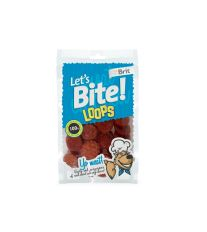 Brit pochoutka Let's Bite Loops 80g NEW