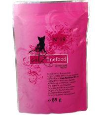 Catz Finefood No.19 Kapsička - jahňacie & byvolej pre mačky 85 g