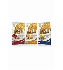 N&D Low Grain Dog Senior S / M Chicken & Pomegr. - Kuracie & gr. jablko s nízkym obsahom obilnín pre psy malých a stredných plemien od 7 rokov