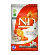 N&D GF Pumpkin DOG Adult M/L Codfish & Orange