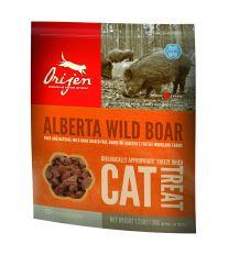 Orijen Cat Alberta Wild Boar - pochúťka sušené mäso diviak 35 g