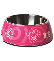 Miska ROGZ Bubble Pink Paw L