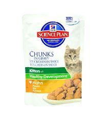 Hill 's Feline kapsička Kitten Kurča - kuracie pre mačiatka 85 g