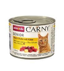 Animonda Carny Senior Konzerva - kura & syr pre mačky od 7 rokov