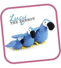 Hračka pro psa, Beco Family - Lucy papoušek S 19cm