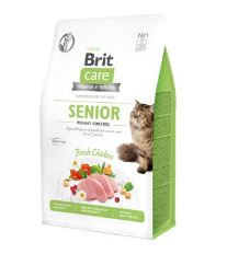 Brit Care Cat GF Senior Weight Control 0,4kg