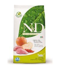 N&D Grain Free Cat Adult Boar & Apple - diviačie & jablko bezobilné pre dospelé mačky