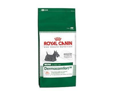 Royal Canin Mini Derma Comfort - pre dospelých psov malých plemien s problémovou pokožkou
