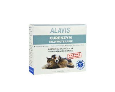 Alavis Enzymoterapia-Curenzym pre psov a mačky - podpora hojenia tkanív a pre posilnenie imunity, 20 tabliet