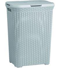 Curver Koš na špinavé prádlo STYLE 60l šedý