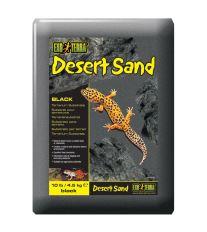 Piesok EXO TERRA púštne čierny 4,5 kg