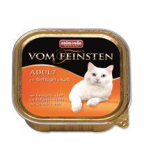 Animonda Vom Feinsten Paštéta - hydina & teľacie pre dospelé mačky 100 g